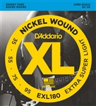 D'Addario EXL180 Extra Super Light (35-95)