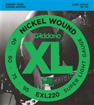 D'Addario EXL220 Super Light (40-95)