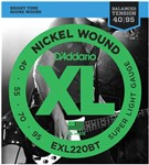 D'Addario EXL220BT Balanced Tension Bass Super Light (40-95)
