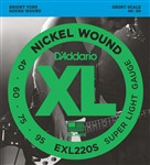 D'Addario EXL220S Short Scale Bass (40-95)