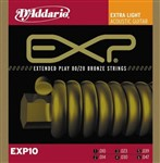 D'Addario EXP10 Bronze Extra Light (10-47)