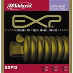 D'Addario EXP13 Bronze Custom Light (11-13)