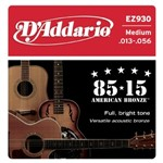 D'Addario EZ930 Great American Bronze 85/15 Medium (13-56)