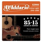 D'Addario EZ900 Great American Bronze 85/15 Extra Light (10-50)