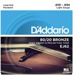 D'Addario EJ62 Mandolin Strings (10-34)