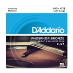 D'Addario EJ73 Phosphor Bronze Mandolin Strings Light (10-38)