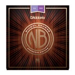D'Addario NB1152 Nickel Bronze Acoustic Guitar Strings (11-52)