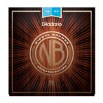 D'Addario NB1253 Nickel Bronze Acoustic Guitar Strings (12-53)