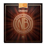 D'Addario NB1256 Nickel Bronze Acoustic Guitar Strings (12-56)
