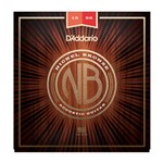 D'Addario NB1356 Nickel Bronze Acoustic Guitar Strings (13-56)