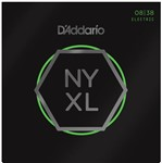 D'Addario NYXL0838 Super Strong Electric Guitar Strings Extra Light (.008-.038)
