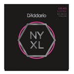 D'Addario NYXL0940BT Super Strong Electric Guitar Strings Balanced Tension Super Light (.009-.040)