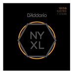 D'Addario NYXL1059 Super Strong 7 String Electric Guitar Strings Regular Light (.010-.059)