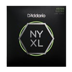 D'Addario NYXL45105 Super Strong Bass Guitar Strings (45-105)