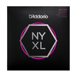 D'Addario NYXL45130 Super Strong 5-String Bass Guitar Strings (45-130)