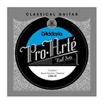 D'Addario CBH-3T Pro-Arte Carbon Treble Half Set, Hard Tension