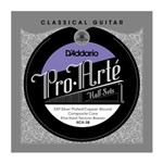 D'Addario XCX-3B Pro-Arte EXP Coated Silver Plated Copper on Composite Core Bass Half Set (Extra Hard Tension)