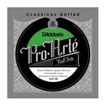D'Addario SCF-3B Pro-Arte Silver Plated Copper on Composite Core Bass Half Set (Flamenco Tension)