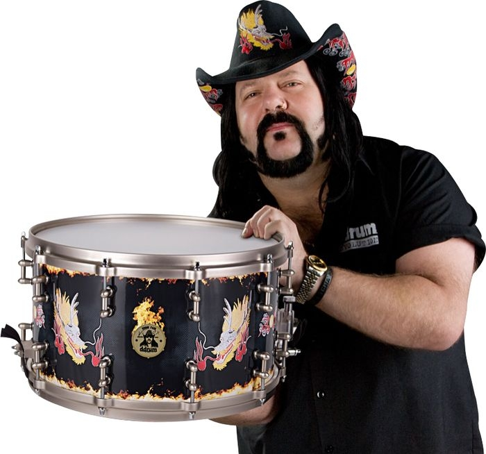 ddrum vinnie paul signature snare drum ddv 14 x 8