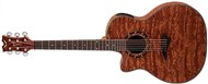 Dean Exotica Bubinga with Aphex Preamp Left Hand