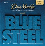 Dean Markley Blue Steel Acoustic Guitar Strings (2032 Extra Light, 10-47)