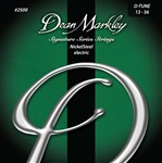 Dean Markley Signature Series Electric Guitar Strings (2500 Drop Tune, 13-56)