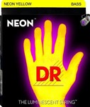 DR Strings NYB-45 Neon Series Bass Strings Yellow (45-105)