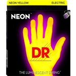 DR Strings NYE-9 Neon Electric, Yellow, Light, 9-42