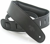 DSL GEG25 Garment Leather Strap, Black
