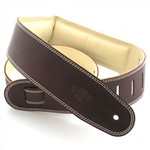 DSL GEG25 Garment Leather Strap, Brown/Beige