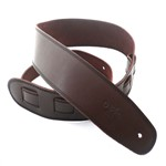 DSL SGE25 Leather Strap with Stitching, Brown/Black