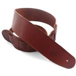 DSL SGE25 Leather Strap with Stitching, Tan/Brown
