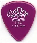Dunlop 41P Delrin 500 Standard Picks, 1.14mm, 12 Pack