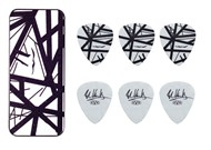Dunlop EVHPT03 EVH Max-Grip Pick Tin (Black & White Frankenstein)