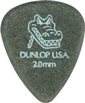 Dunlop Gator Grip Standard Guitar Picks 12 Pack (2.00mm)