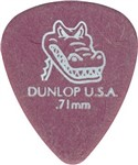 Dunlop 417P Gator Grip Standard Guitar Picks, .71mm, 12 Pack