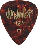Dunlop 483P Genuine Celluloid Picks, Heavy, Shell, 12 Pack