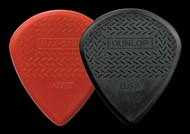 Dunlop 471P3N Max-Grip Jazz III Picks, Red, 6 Pack