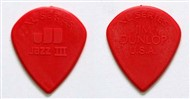 Dunlop 47RXLN Nylon Jazz III XL Picks, Red, 24 Pack