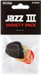 Dunlop PVP103 Jazz III Pick Variety Pack Main