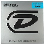 Dunlop Super Bright Electric Guitar Strings (Hybrid, 9-46)