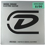 Dunlop Super Bright Electric Guitar Strings (Medium/Heavy, 11-50)
