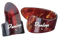 Dunlop Thumb and Finger Pick Player Pack (Shell, Large)