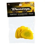 Dunlop 418P Tortex Standard Picks, .73mm, 12 Pack