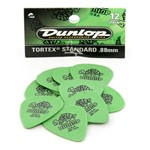 Dunlop 418P Tortex Standard Picks, .88mm, 12 Pack