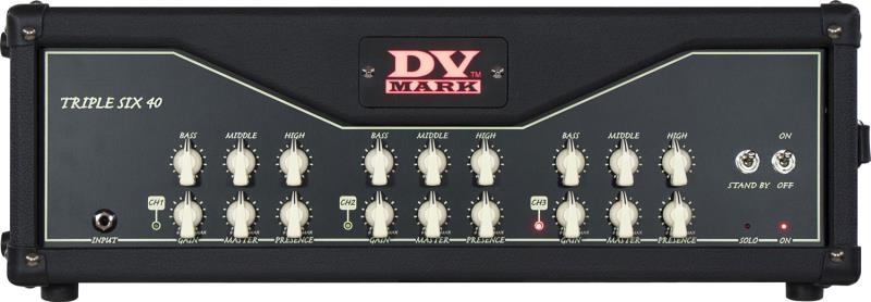 DV Mark Triple Six 40 Front