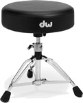 DW 9000 Series 9101 Heavy Duty Round Top Throne, Low