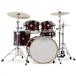 DW Design Series 4 Piece Shell Pack, Cherry Stain Gloss Lacquer