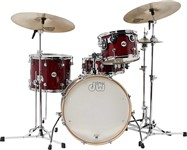 DW Design Series Frequent Flyer Shell Pack (Cherry Stain Lacquer)