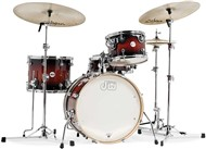 DW Design Series Frequent Flyer Shell Pack,Tobacco Burst Lacquer